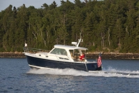 Back Cove 30 cruises near the Basin